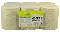 3 Ply Dairy Wipes, 6 rolls per case