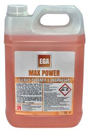 EGA Max Power Citrus Cleaner/Degreaser, 2 x 5 litres