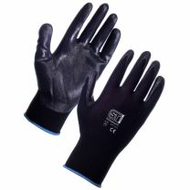 Nitrotouch Gloves Black, 10 pairs
