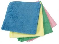 Microfibre Cloths, Red x 10 cloths
