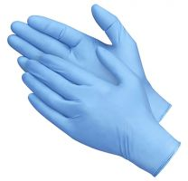 Blue Nitrile Gloves, 1,000 gloves per case