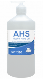 AHS Hand Sanitiser 8 x 750ml