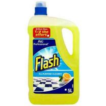Flash All Purpose Lemon, 2 x 5 Litres